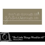 The Little Things Freebie WordArt 45-$0.00 (Lasting Impressions)