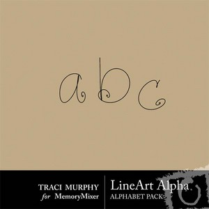 Line art alpha medium