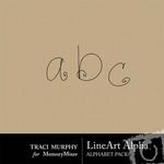 Line Art Alphabet Pack-$0.99 (Traci Murphy)