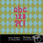 Holiday Brights Alphabet Pack-$0.99 (Traci Murphy)