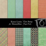 Get Away Paper Pack-$3.49 (Karen Lewis)