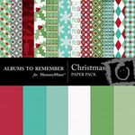 Christmas Paper Pack-$3.49 (Albums to Remember)