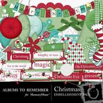Christmas Embellishment Pack-$2.99 (Albums to Remember)