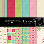 Holiday Joy Paper Pack-$3.99 (Designs by Krista)