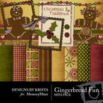 Gingerbread Fun Mini Pack-$3.99 (Designs by Krista)