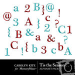 Tis the Season Alphabet Pack-$1.99 (Carolyn Kite)