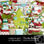 Tis the Season Embellishment Pack-$2.99 (Carolyn Kite)
