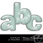 Winter Wonder JK Alphabet Pack-$0.99 (Julie Klaus)