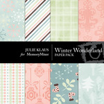 Winter Wonder JK Paper Pack-$3.50 (Julie Klaus)