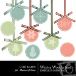 Winter Wonder JK Embellishment Pack 2-$1.99 (Julie Klaus)