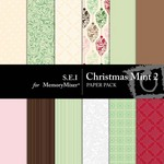 Christmas Mint Paper Pack 2-$3.49 (s.e.i)