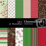 Christmas Mint Paper Pack 1-$3.49 (s.e.i)