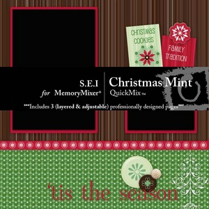Christmas mint qm medium