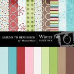 Winter Fun Paper Pack-$3.99 (Albums to Remember)