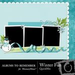 Winter Fun QuickMix-$3.99 (Albums to Remember)