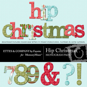 Hip christmas alpha medium