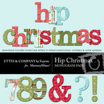 Hip Christmas Alphabet Pack-$0.99 (Ettes and Company by Fayette)