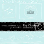 Hip Christmas Doodle Pack-$1.49 (Ettes and Company by Fayette)