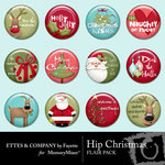 Hip Christmas Flair Pack-$1.49 (Ettes and Company by Fayette)