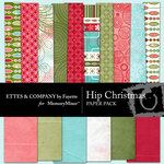Hip Christmas Paper Pack-$3.99 (Ettes and Company by Fayette)