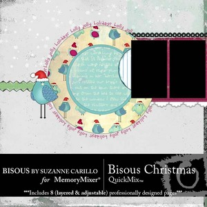 Bisous christmas medium