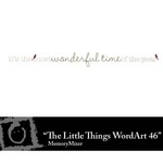 The Little Things Freebie WordArt 46-$0.00 (Lasting Impressions)