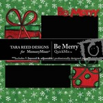 Be Merry TR QuickMix-$3.99 (Tara Reed Designs)