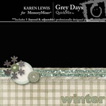 Grey Days QuickMix-$3.99 (Karen Lewis)