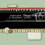 Happy Holly Days QuickMix-$3.99 (Karen Lewis)