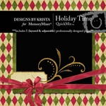Holiday Time QuickMix-$3.99 (Designs by Krista)