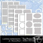 Tag Project Patterns 1-$2.99 (Lasting Impressions)