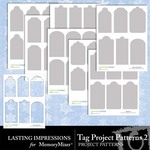 Tag Project Patterns 2-$3.00 (Lasting Impressions)
