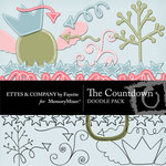 The Countdown Doodles-$1.50 (Ettes and Company by Fayette)