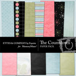 The Countdown Paper Pack-$3.99 (Ettes and Company by Fayette)