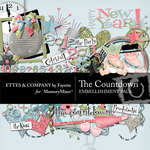 The Countdown Embellishment Pack-$3.50 (Ettes and Company by Fayette)