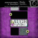 Frolic QuickMix-$3.99 (Designs by Krista)