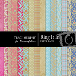 Ring It In Patterned Paper Pack-$3.99 (Traci Murphy)
