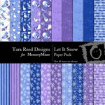 Let It Snow Paper Pack-$3.99 (Tara Reed Designs)