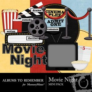 Movie night mini medium