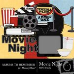 Movie Night Mini Pack-$3.50 (Albums to Remember)
