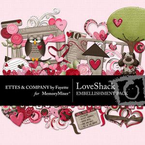 Love shack emb medium