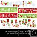 Winter Wonderland TR Embellishment Pack-$2.99 (Tara Reed Designs)
