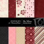 Be Mine JK Paper Pack-$2.99 (Julie Klaus)