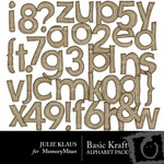 Kraft Alphabet Pack-$0.99 (Julie Klaus)