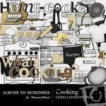Cooking Embellishment Pack-$2.99 (Albums to Remember)