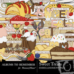 Sweet Treats Embellishment Pack-$3.00 (Albums to Remember)