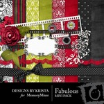 Fabulous Mini Pack-$3.99 (Designs by Krista)