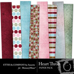 Heart Throb Paper Pack-$2.99 (Ettes and Company by Annette)