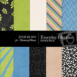 Everyday Elegance Paper Pack-$2.99 (Julie Klaus)