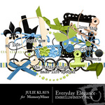 Everyday Elegance Embellishment Pack-$1.99 (Julie Klaus)
